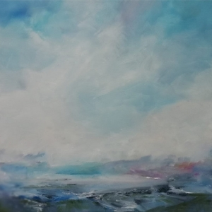 Connemara Mist. Oil on Canvas. 50 x 50cm