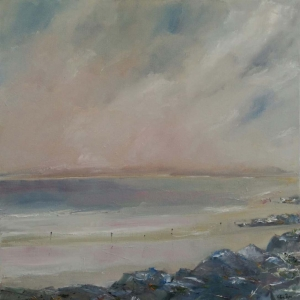 Rossbeigh, Co Kerry. Oil on Canvas. 60 x 60cm (SOLD)