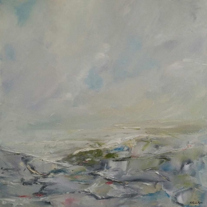 The Burren, Co Clare. Oil on Canvas. 60 x 60cm