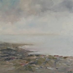 Towards Tara Hill, Co Wexford. Oil on Canvas. 60 x 60cm